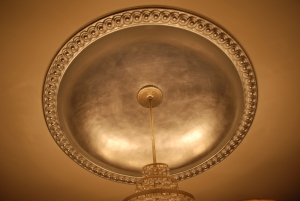 silver leaf on ceiling (2)